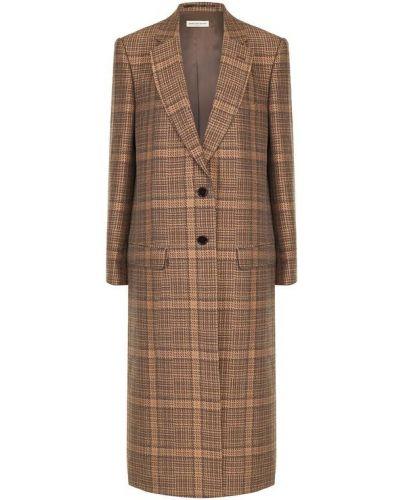Длинное пальто свободное с карманами Dries Van Noten