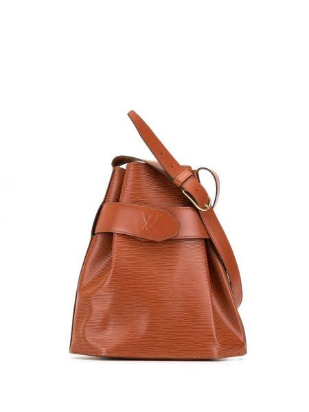 Skórzana torebka rama z logo Louis Vuitton Pre-owned