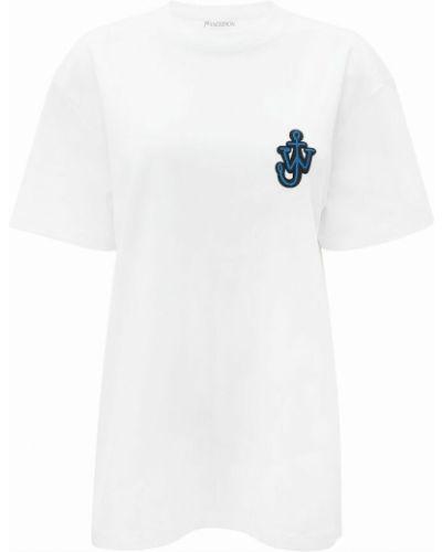 Biała t-shirt Jw Anderson