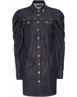 Джинсовое платье Versace