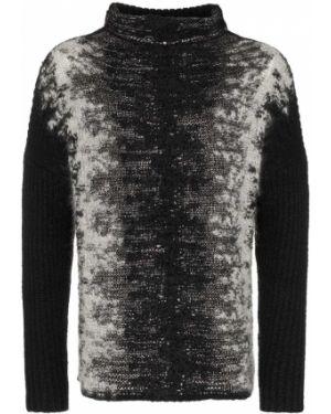 Черный свитер из мохера свободного кроя Martin Diment