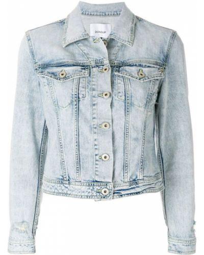 Синяя джинсовая куртка Dondup