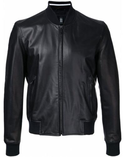 Czarna kurtka bawełniana Kent & Curwen