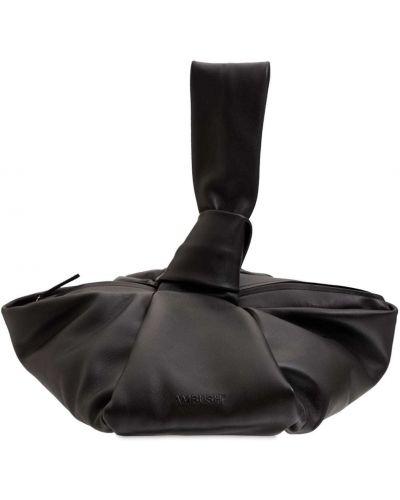 Czarna torebka skórzana Ambush