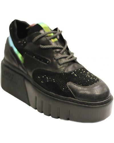 Повседневные туфли - черные Saveno