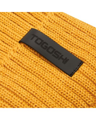 Шапка - желтая Togoshi