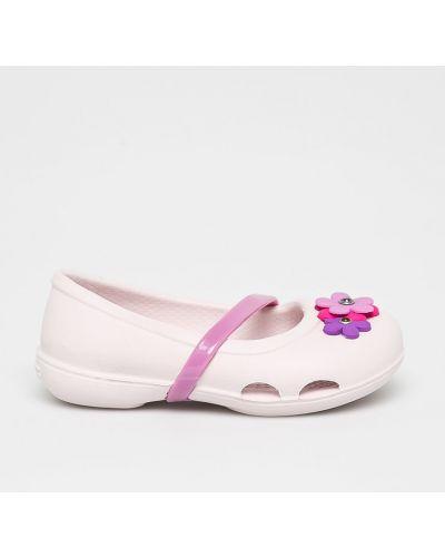 Балетки розовый Crocs
