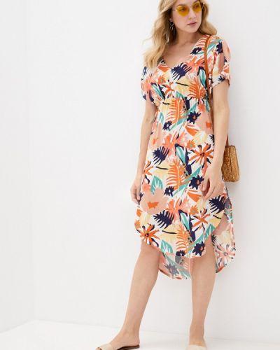 Разноцветное платье Roxy