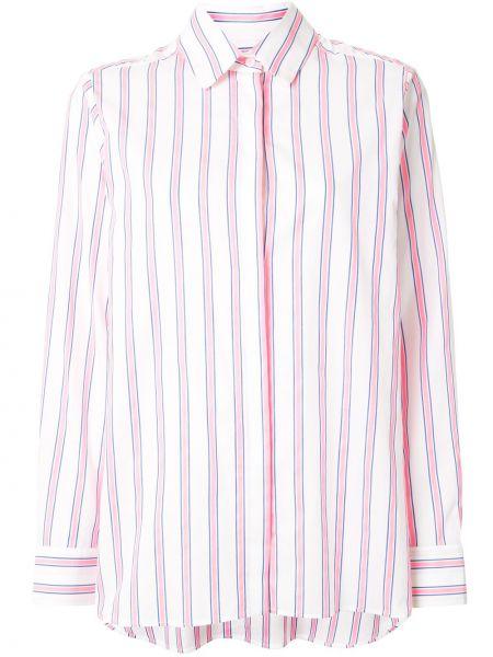 Klasyczna koszula bawełniana w paski z długimi rękawami Etre Cecile