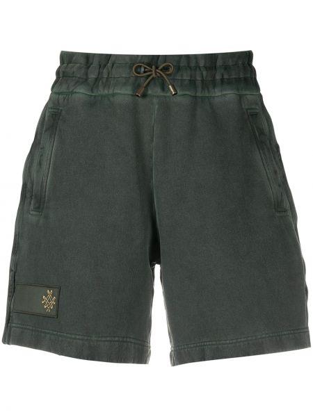 Хлопковые шорты - зеленые Mr & Mrs Italy