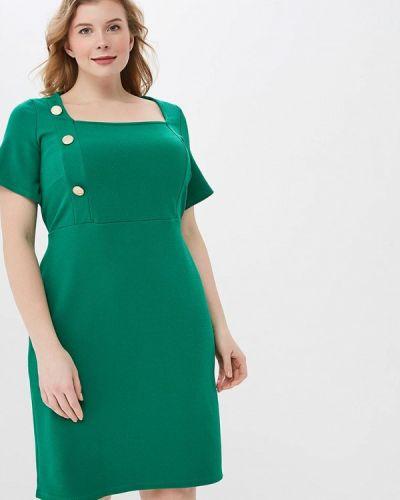 Деловое платье весеннее зеленый Dorothy Perkins Curve