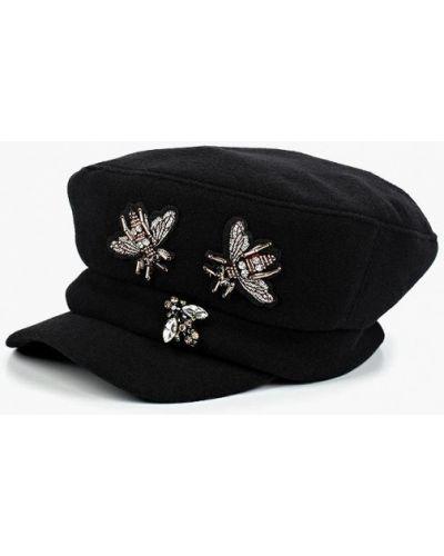 Черная кепка Miss Sherona
