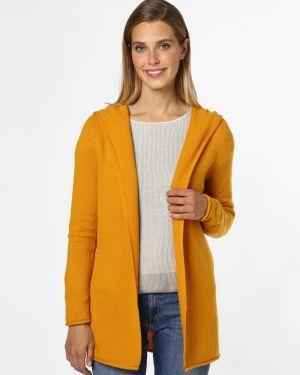 Żółty garnitur dzianinowy Marie Lund