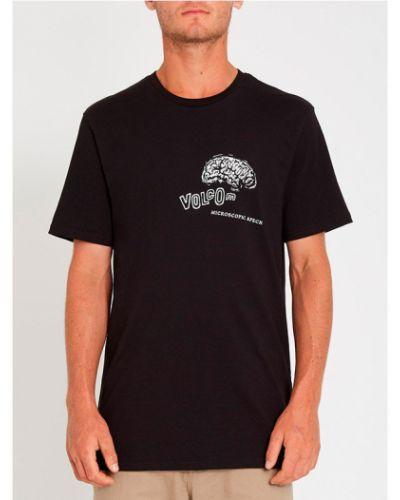 Черная футболка Volcom