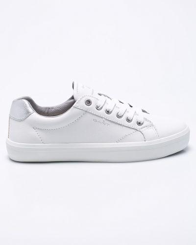 Белые кеды теннисные Gant