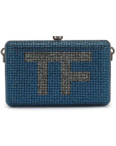 Синяя сумка вечерняя Tom Ford