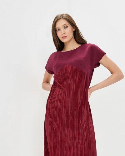 Платье бордовый красный Akimbo