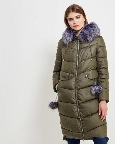 Утепленная куртка весенняя зеленая Tantra
