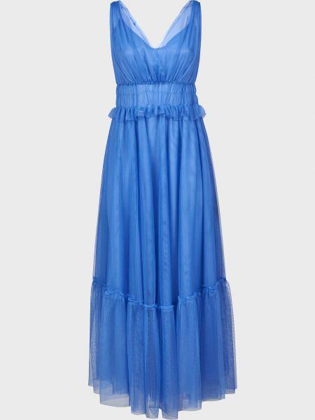Платье из полиэстера - голубое Vicolo