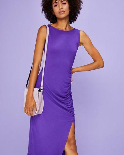 Платье миди со складками трикотажное Answear