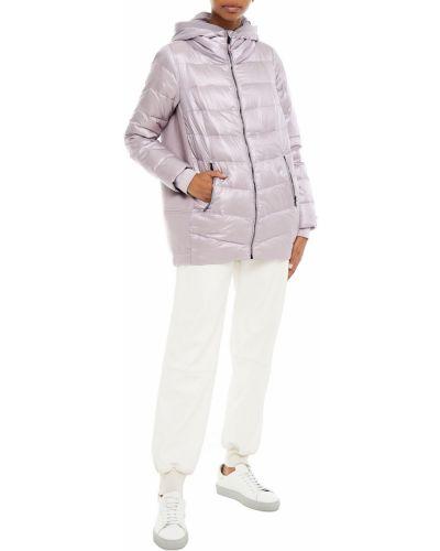 Розовая стеганая пуховая куртка Dkny