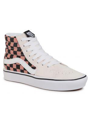 Skórzany biały skórzane sneakersy Vans