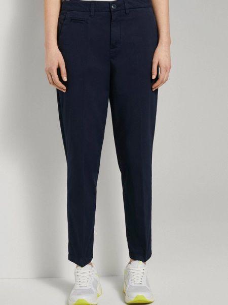 Повседневные черные брюки Tom Tailor Denim