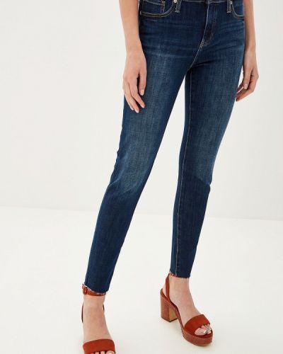 Зауженные джинсы - синие Banana Republic