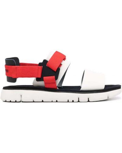 Białe sandały skorzane Camper