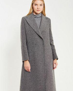 Пальто демисезонное серое Trussardi Collection