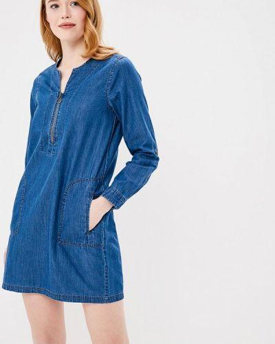 Джинсовое платье весеннее индийский Q/s Designed By