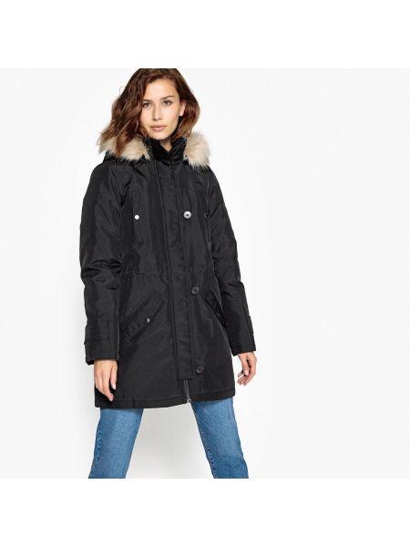 Пальто с капюшоном на пуговицах Vero Moda