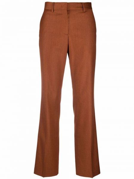 Шерстяные брюки - коричневые Paul Smith