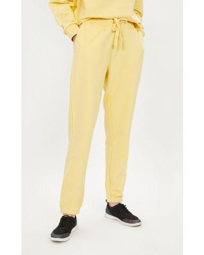 Желтые трикотажные джоггеры Baon