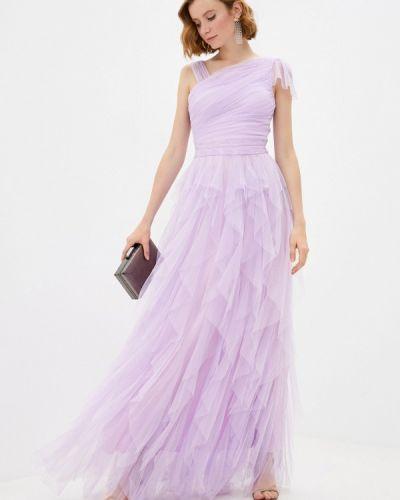 Фиолетовое вечернее платье Soky & Soka