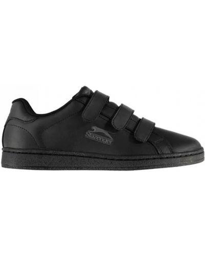 Текстильные кроссовки - черные Slazenger