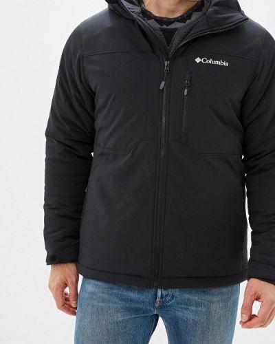 Утепленная куртка черная осенняя Columbia
