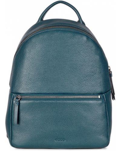 Рюкзак на молнии синий Ecco
