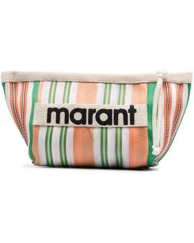 Оранжевая нейлоновая сумка на молнии Isabel Marant