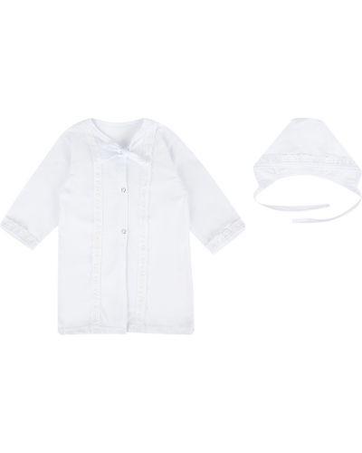 Рубашка белый набор моей крохе