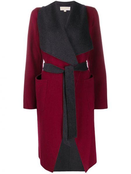Акриловое пальто с поясом Michael Michael Kors