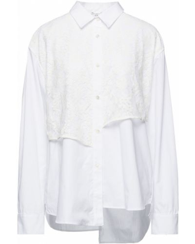 Кружевная рубашка - белая Clu