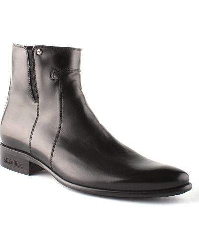Кожаные сапоги - черные Mario Bruni