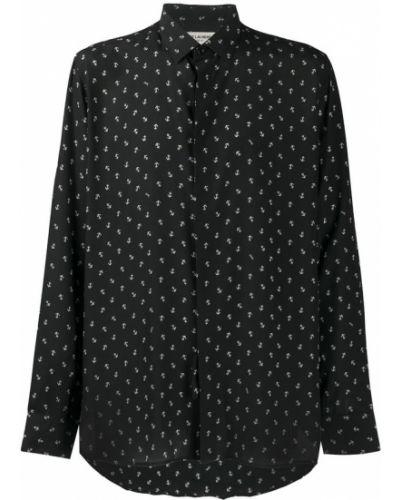 Czarna koszula Saint Laurent