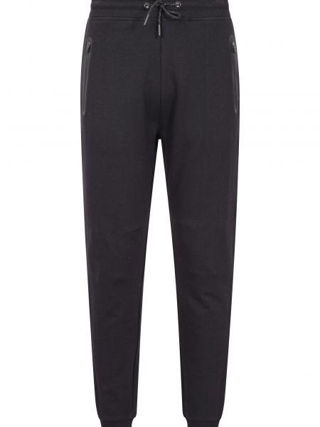 Czarne spodnie ocieplane Mountain Warehouse