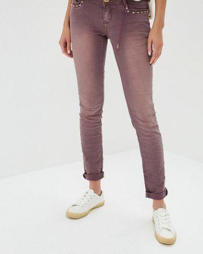 Фиолетовые брюки повседневные Custo Barcelona