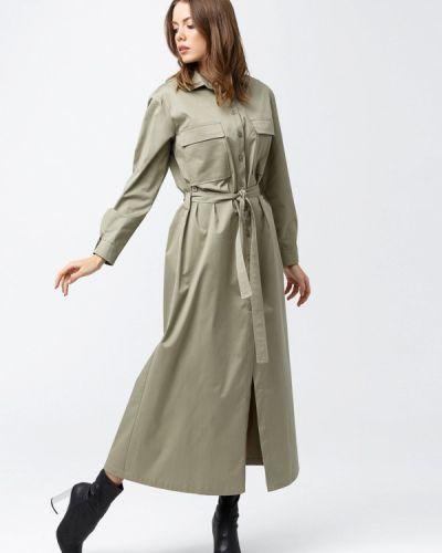 Платье платье-рубашка осеннее Evercode