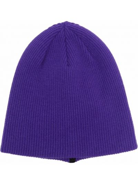 Шерстяная шапка бини - фиолетовая Stone Island Shadow Project