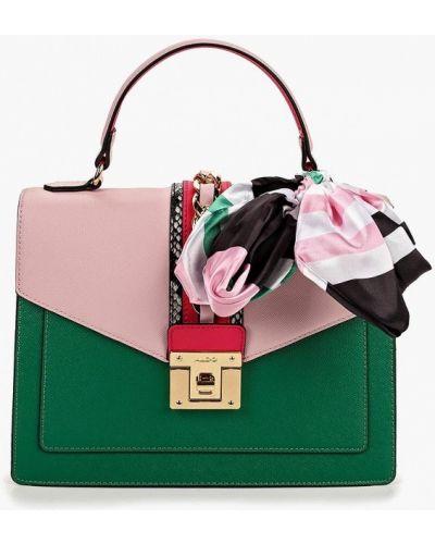 Кожаный сумка через плечо зеленый Aldo