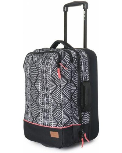 Черный чемодан Rip Curl